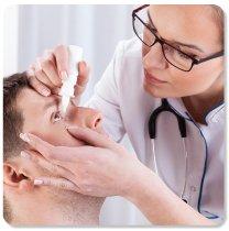 Allergy induced eye irritation
