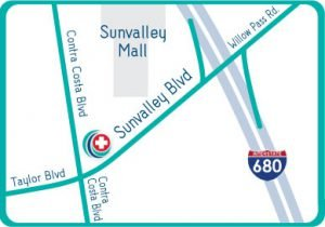 Directions - STAT MED Urgent Care - Pleasant Hill / Concord