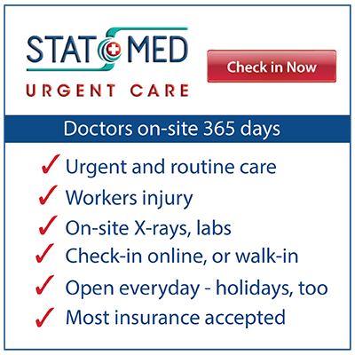 Graphic - Why patients chose STAT MED Urgent Care - Pleasant Hill / Concord, Lafayette, Livermore
