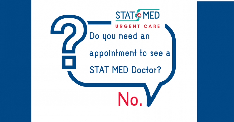 See a doctor today - no appointment required
