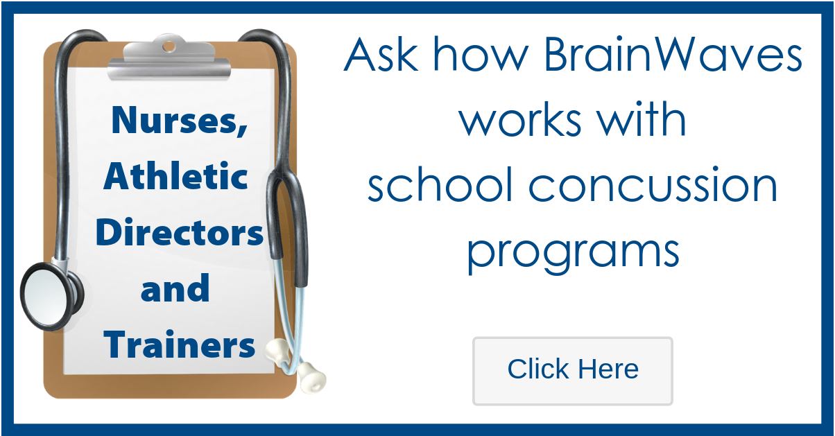 Graphic - STAT MED Urgent Care works with School Concussion Programs - Click to Learn More