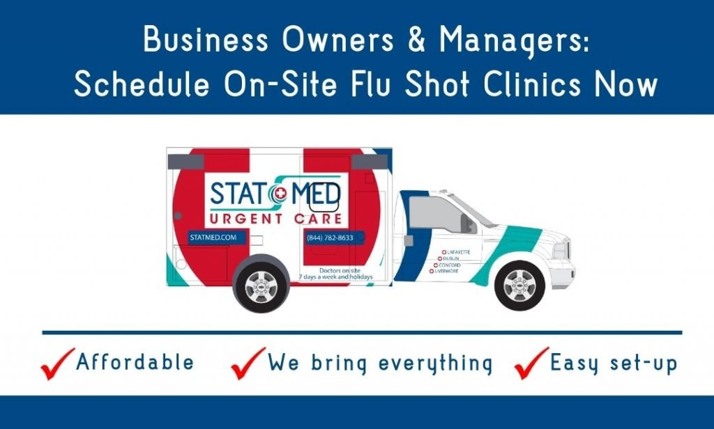 Schedule Flu Shots for Employees On-Site