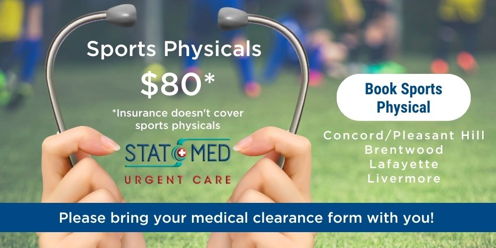 Book Sports Physical - Clearance at STAT MED Urgent Care