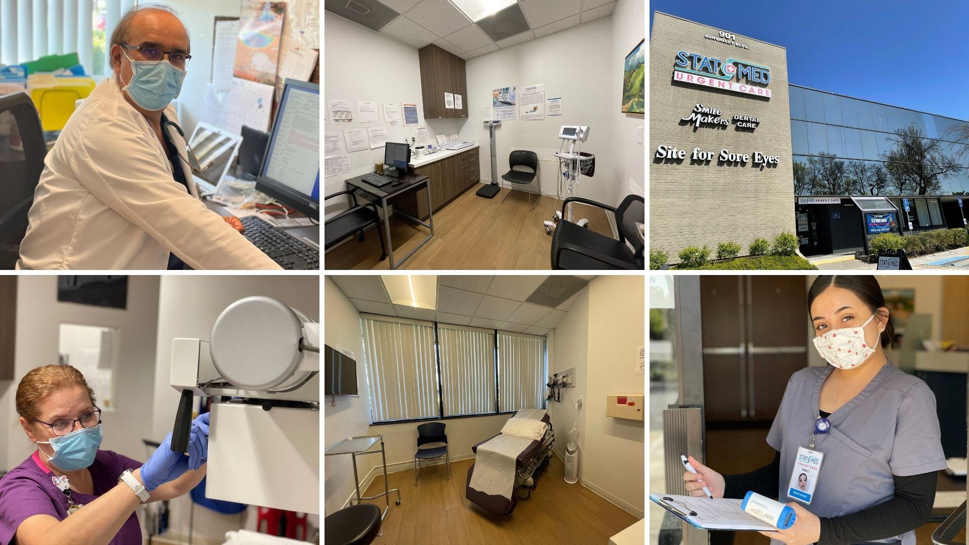 STAT MED Urgent Care - Concord CA - Collage